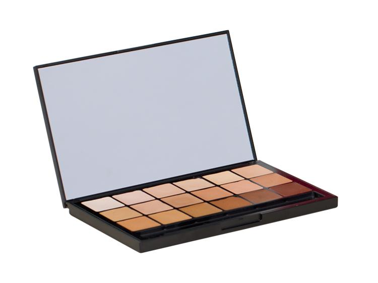 BEN NYE MediaPRO HD Sheer Foundation Palette mit 18 Farben