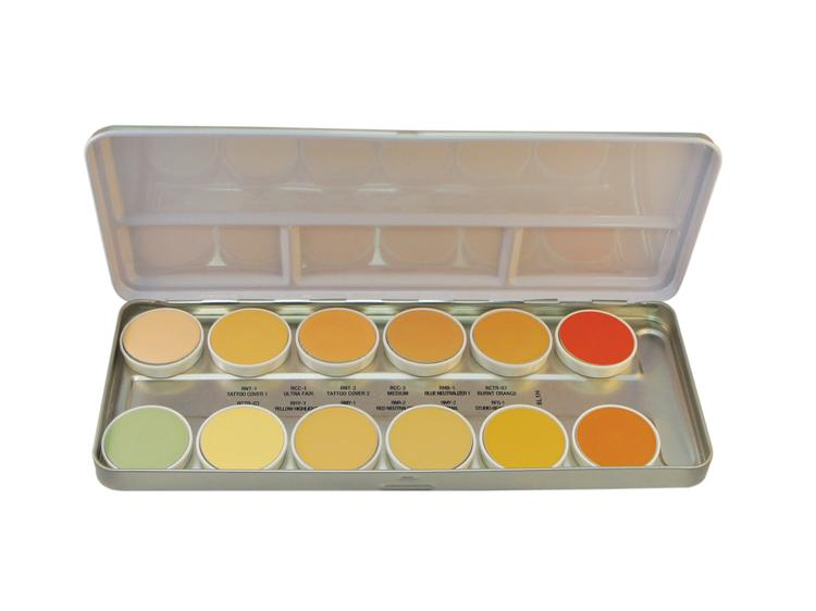 BEN NYE MediaPRO HD Concealer Palette NKP-12 with 12 colors
