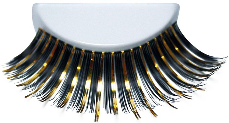 ATB Eyelashes Black/Gold