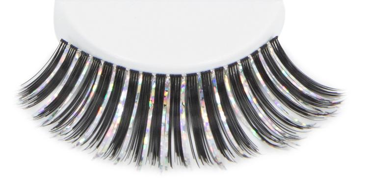ATB Eyelashes Black/Multi Iris
