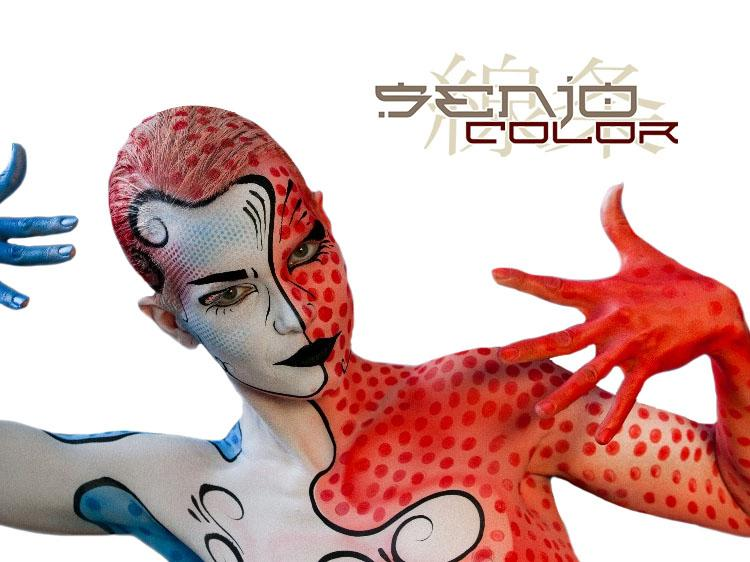 New in our webshop: airbrush and bodypainting colors from SENJO COLOR