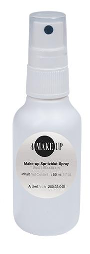 4 MAKE-UP Spritzblut-Spray