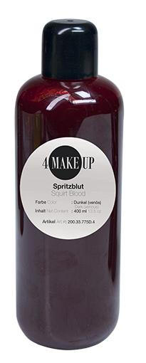 4 MAKE-UP Spritzblut