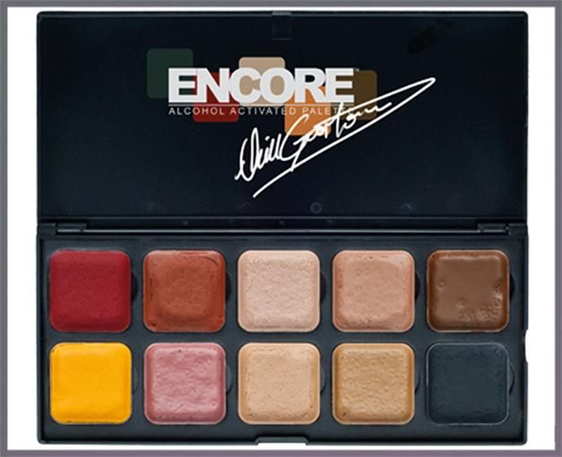 ENCORE Neill Gorton FLESH Palette with 10 colors