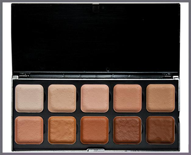 ENCORE Skin Light to Dark Palette with 10 colors