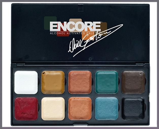 ENCORE Neill Gorton OLD AGE Palette with 10 colors