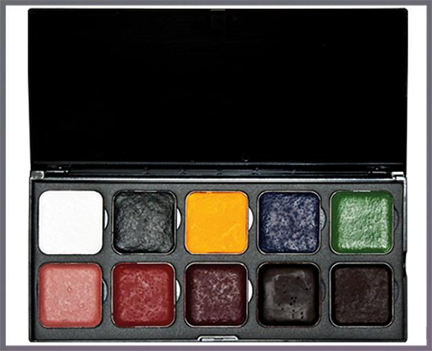 ENCORE SFX Palette with 10 colors