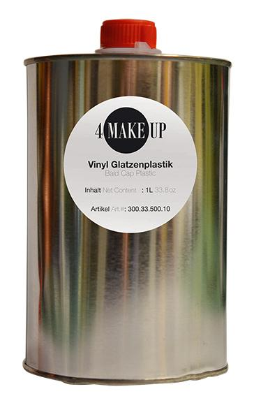 4 MAKE-UP Vinyl Glatzenplastik