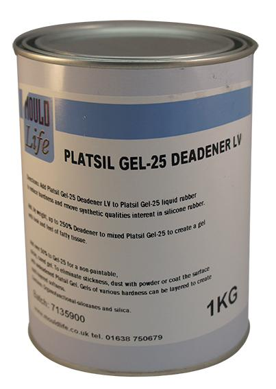 MOULDLIFE PlatSil Gel 25 Deadener LV