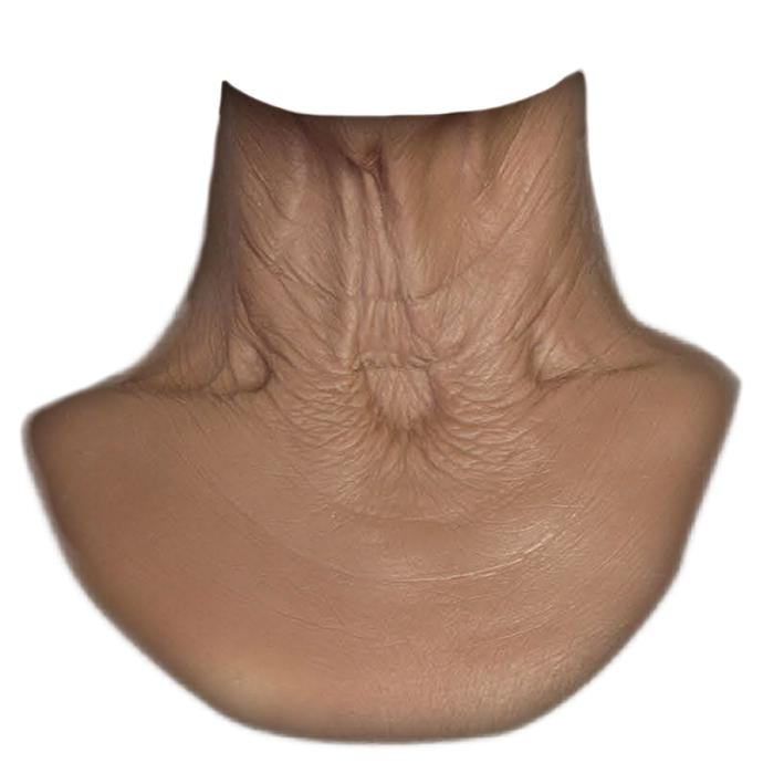 MFX Unisex Old Age Neck 80+ years