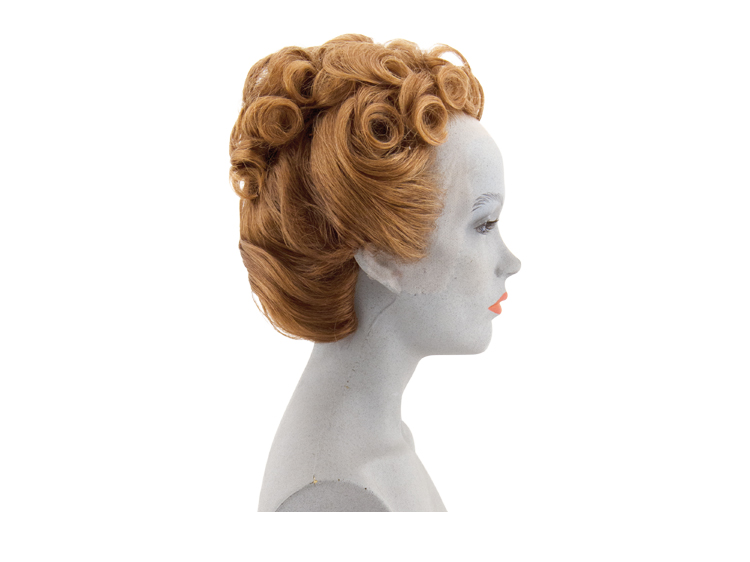 Atb Chignon Hairstyle Of A Lady 1945 Human Hair