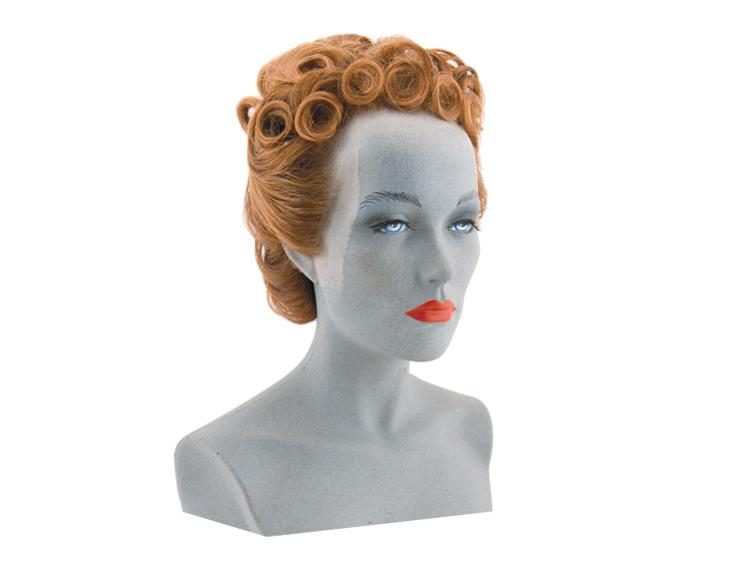 ATB Chignon Hairstyle of a Lady 1945, Synthetic Hair