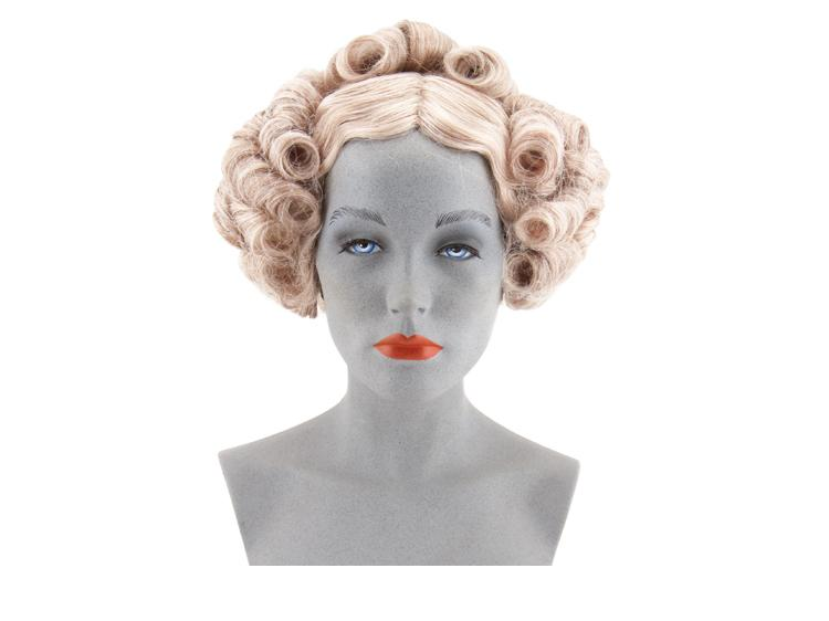 ATB Biedermeier Lady Hairstyle 1835, Synthetic Hair
