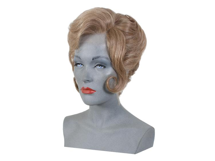 ATB Hairstyle of a Lady around 1962, Synthetic Hair