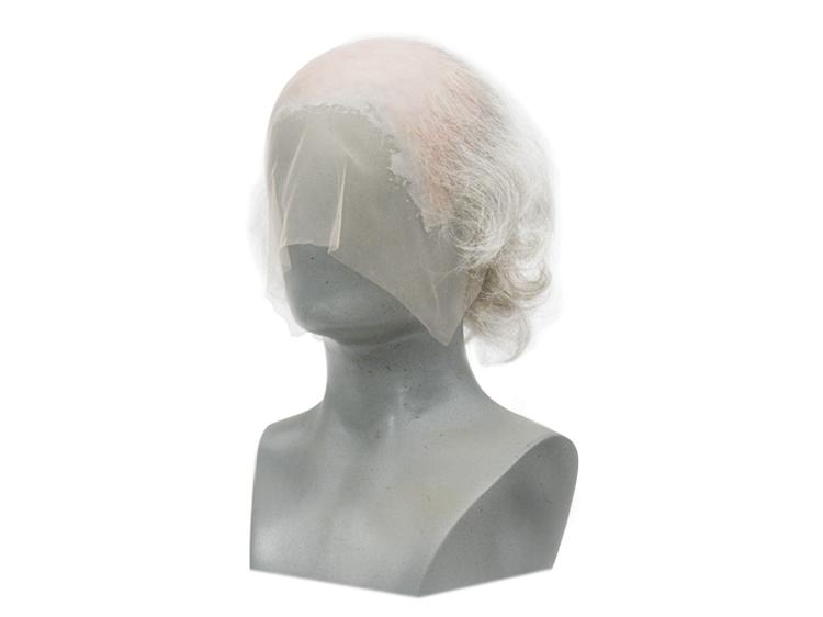 ATB GUNDUL Silicone Bald Wig with thinning hair on top