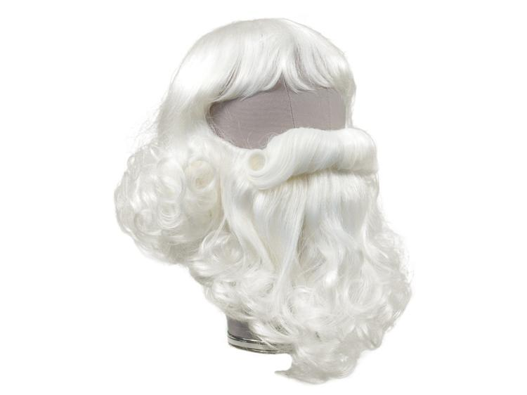 ATB Santa Claus-Set Style 4, Synthetic Hair