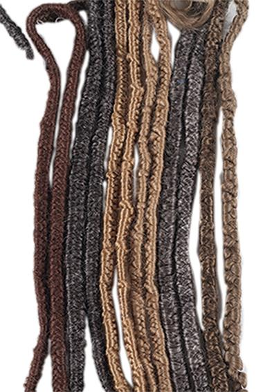 ATB Crepe Hair Yak Hair (braided)