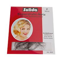 SOLIDA Haarnetz Superdraht-Netz Synthetic 850