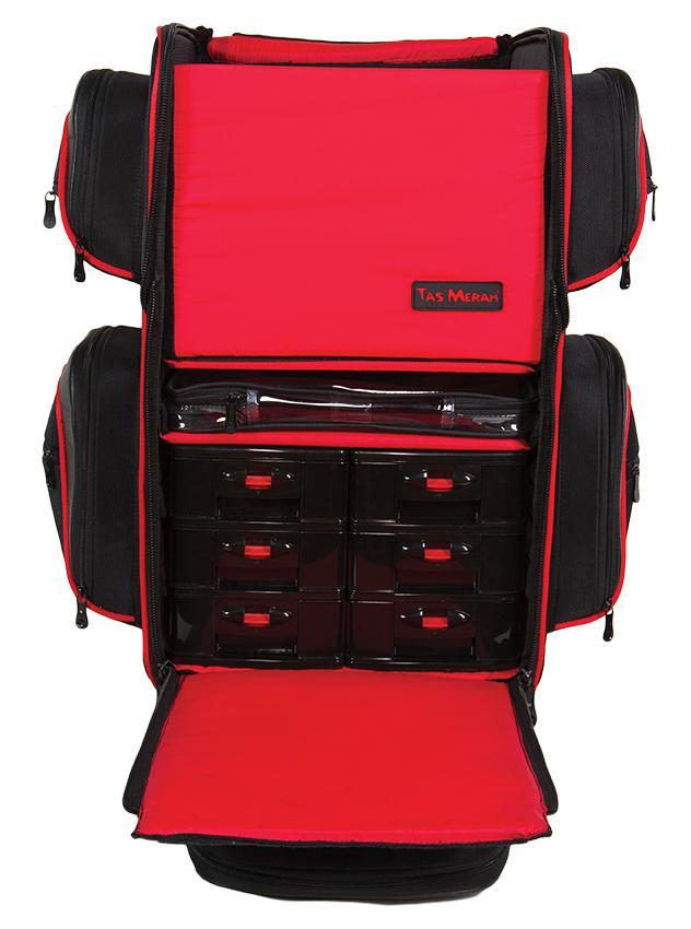 TM Make-up Soft Case Master (Polyester) (4222) | Make-up Soft Cases | Cases & Bags | ATELIER BASSI